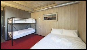 Buller Central queen bed room